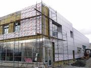 Монтаж навесных вентилируемых фасадов в Пензе