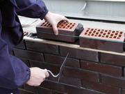 Русские каменщики,  работа по кладке кирпича и блоков в Пензе